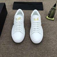 горячий человек моды p оптовых-Мода стиль высочайшее качество модель p обувь Горячие продажи бренда Мужчины Натуральная Кожа ткань Высокое качество Обувь Размер eu38-44 бесплатная доставка 1303015
