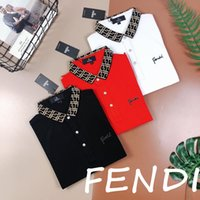 iş bluzu kadın toptan satış-19SS Paris fen Polo eğlence Tee Tshirt Nefes Iş Kısa Kollu Moda Tişörtleri Erkek Kadın bluzlar Açık Streetwear Tshirt