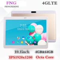 Wholesale tablet 9.7 octa online - 10 Inch Tablet pc G G Phone Call Android Octa Core Tablet GB ROM GB RAM WiFi FM Bluetooth smart Tablets