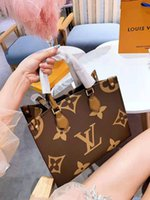 Wholesale two one handbags online – custom 19 Autumn fashion collision color Laohua lady with two shoulder straps and one shoulder hanging handbag obliquely