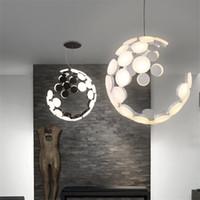 Wholesale light ceilings resale online - Nordic LED Modern Pendant Lamp Ceiling Light Dinning Room Chandelier Art Decor For Bedroom Bar Living Room Home Lighting