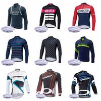 ingrosso abbigliamento gigante blu della bici-Morvelo ORBEA team Cycling Winter Thermal Fleece jersey 2019 men winterThe New Compressed Bici traspirante per bicicletta Ottimo valore 2011L