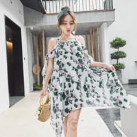 bikini türleri toptan satış-Güney Kore Mayo Etek Tipi Güzel Seksi Kadınlar Bikini Mayo Göğüs Büyük Kız Kaplıca Mayo
