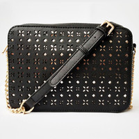 Wholesale tassel body chain for sale - Group buy Pink sugao crossbody bag chain shoulder purse new style pu leather designer handbag fashion famous women messenger bag Hollow style
