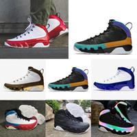 Wholesale jordan 9 resale online - 2020 New s IV white black men basketball shoes Nakeskin Jordan sports sneakers fashion trainers shoes size Xd4c
