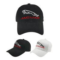 Wholesale car logo baseball caps for sale - Group buy Jaguar Embroidery Baseball Cap Fashion Adjustable Caps Men Women Summer cotton lovely Dad Hat Hip hop Car Logo Cap