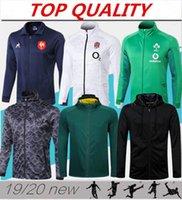 hoodies camisetas venda por atacado-2019 Nova Zelândia Rugby hoodies jaqueta 19/20 Maillot de Pé África Do Sul Camisas rugby camisa Rugby Irlanda jaquetas tamanho S-3XL
