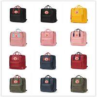 spor çantaları toptan satış-Sıcak 7L 16L 20L İsveç Arctic Fox Klasik Sırt Çantası Kanken Moda Stil Tasarım Çanta Genç Tuval Su Geçirmez Fjallraven Sırt Çantası Marka spor