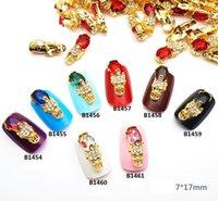 mascote jóias venda por atacado-Mascote PI xiu Diversas Gemas DIY Novo Encantador Mix Nail Art Decoração Jóias Gel Glitter Nail Art Decoração