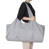 Wholesale yoga mat gym bags for sale - Group buy Yoga Mat Bag On For Sports Beach Tour Storage Bag Large Capacity Canvas Gym Fitness Pilaties Mat Handbag Multi color Carry Case