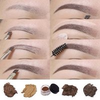 Wholesale hot chocolate pomade resale online - New Arrival Eyebrow Pomade Eyebrow Enhancers Hot Makeup Eyebrow Colors With Retail Package DHL