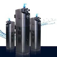 filtro de tanque uv al por mayor-Sunsun JUP-21 22 23 8W Acuario Sumergible Bomba de filtro UV Esterilizador Lámpara Aclarador de agua Filtro de tanque de pescado Accesorios