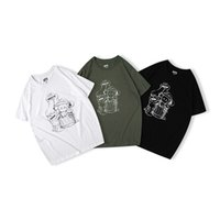 Wholesale hot t shirts for men for sale - Group buy UNIQLOS co branded hot style t shirts for both men and women must have black and white cement grey M L XL XXL