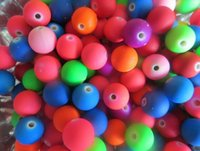Wholesale candy beads jewelry for sale - Group buy 10MM Mixed Candy Color Acrylic Rubber Beads Neon Matte Round Spacer Loose Beads Jewelry Handmade Bracelets Necklace DIY Accessories Gift