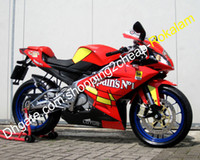 Wholesale abs fairing mold resale online - Spain s No Cowling For Aprilia RS125 RS125 RS ABS Red Yellow Motorcycle Fairing Injection molding