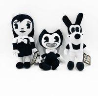 Wholesale surprise gift for girls online - Bendy Boris Dog Plush Doll Toys For Kid Surprise Gift Bendy Plush Toys Dog Boris Girl Stuffed Dolls cm KKA6503