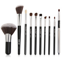 Wholesale professional makeup tools cosmetic for sale - Cosmetic Makeup Brush Sets Tool Animal Horse Hair Wood Handle Powder Eyeshadow Contour Concealer Brushes Professional Make Up Brushes