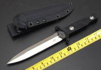 facas de boker venda por atacado-Acabamento fino Futuro lutadores espada Faca de Combate Boker Faca Tática com kydex bainha G10 lidar com 1 pc