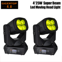 super beam 4x25w  venda por atacado-Os mais recentes 4x25W colorido 130W LED Super feixe Moving Head Light Para Disco Discoteca DJ Bar pequeno feixe Moving Head Light