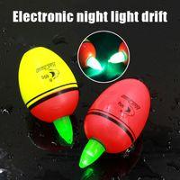 batterie beleuchtete fischer schwimmt großhandel-2 Pcs Fishing Floats Elektronisches Licht Luminous Rock Fishing Float mit Batterie XR-Hot