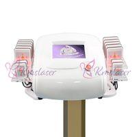 сжигание жира лазерная машина оптовых-650 нм лазер Lipo LipoLaser для похудения инструмент быстрого удаления жира сжигания тела коррекция фигуры нерона машина для похудения (весло 14 шт.) Потеря веса