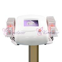 machine à pagaie achat en gros de-650nm LipoLaser Laser Lipo Laser Instrument Fast Fat Burning Remover Remodelage du corps formant la machine de perte de poids zerona (perte de poids de pales 14pcs)