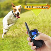 Wholesale barking collars for dogs resale online - RC Dog Training Anti Barking Collars Electronic Vibration Dog Collar Honden Halsband Dog Training Clicker For Small Dogs