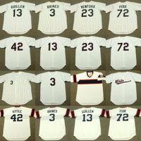 Wholesale women jersey 23 for sale - Group buy Chicago OZZIE GUILLEN RON KITTLE HAROLD BAINES ROBIN VENTURA CARLTON FISK Baseball Jersey men youth women stitched