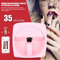 Wholesale smart arts for sale - Group buy DIY Digital Mobile Nail Art Printer Portable D Smart Nail Painting Machine V