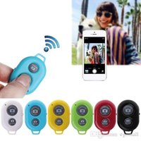 ingrosso rilascio otturatore timer senza fili-Autoscatto Bluetooth del telefono pulsante di scatto per 7 selfie bastone rilascio di otturatore di telecomando senza fili