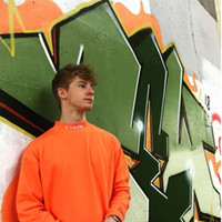 mejores camisetas de pareja al por mayor-Heron Preston Tee CTNMB Letter Embroidery High Neck Bottom Shirt Camisetas Mejor versión Pareja High street designer Long Sleeve HFWPWY145