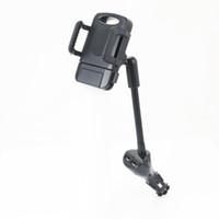прикуриватель телефона оптовых-Dual USB Автомобильное зарядное устройство прикуривателя Base 5V 2.4A Быстрая зарядка с мобильного телефона Автомобильный держатель
