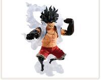 macaco brinquedos de boxe venda por atacado-14 cm One Piece Gear quarto Monkey D Luffy cobra formulário Action figure brinquedos boneca de presente de Natal com caixa