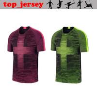 Wholesale soccer jersey hot resale online - 19 england Remix Pre Match Shirts KANE DELE RASHFORD STERLING VARDY HOT PINK light green volt accents soccer jersey