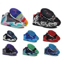 zapatillas de baloncesto hombres lebron 11 al por mayor-lo que las zapatillas de baloncesto lebron 11 XI para hombre se venden lebrons 11s Navidad BHM Oreo juvenil niños Generación zapatillas de deporte botas con caja original