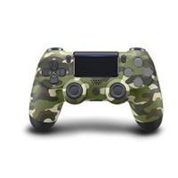jogo com joystick venda por atacado-Controlador sem fio bluetooth ps4 para ps4 joystick gamepad ps4 controlador de jogo para sony play station sem logotipo original