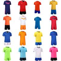 camiseta de fútbol con descuento s al por mayor-Top del fútbol jerseys baratos libres del envío al por mayor de descuento cualquier nombre cualquier número de camiseta de fútbol Personalizar el tamaño S-XXL CC0593