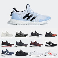 gece izlemek toptan satış-Adidias Game of Thrones Ultra Boost UltraBoost Mens Running shoes Night's Watch House Stark Lannister Targrayen Primeknit sports trainer men women sneakers