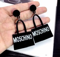 Wholesale black animal ears for sale - Group buy Fashion Designer brand Letters Earrings Gold Silver Plated Ear Studs Double G Earddrop For Women Girl Party Jewelry