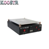 Wholesale manual vacuumed pump for sale - Group buy TBK D max inch manual lcd separator for mobile phone for tablet screen lcd separator with build in vacuum pump