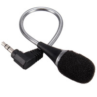 Wholesale best prices for laptops resale online - Universal mm Jack Flexible Mini MIC Microphone For Laptop PC Notebook Computer For Skype Chat Microphone Best Price