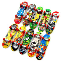 Wholesale tech toys for sale - Group buy random Fingerboard Tech Decks mm mini Skateboard Original boys toy Plan B Element Blind DGK Zoo YorK Flip Birdhouse