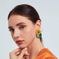 ohrringe arbeiten sommer großhandel-Summer Beach Hawaii Style Designer Ohrring Charm Fashion Damen Ohrring Schmuck Pretty Wear