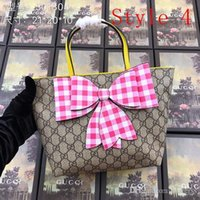Wholesale butterfly totes resale online - Top quality women shoulder bags Large tote shopping handbag famous bag Butterfly pattern fashion tote bags handbags purses bags