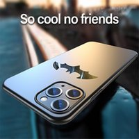 Wholesale batman phone covers online – custom For Hua Wei Ultra thin Metal Batman Matte PC Phone Case For iPhone Pro Max XSmax XR XS Magnetic Protection Cover Coque
