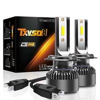 ingrosso h fari principali-2pcs faro LED 50W 10000LM fari a LED di alta qualità, H1 H4-H / L H7 H8 / H9 / H11 9005 / HB3 9006 / HB4 9012 12V 24 V