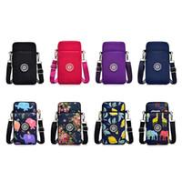 Wholesale lock arms resale online - Square Vertical Phone Bag Women s Messenger Bag Multifunctional Sports Arm Single Shoulder Crossbody Hanging Neck Purse Mini
