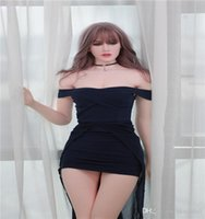 ingrosso bambola del sesso del negozio in linea-sex shop online vendita calda migliore qualità 175 cm grande seno bambola del sesso del silicone realistica bambola del sesso reale jy 167th testa