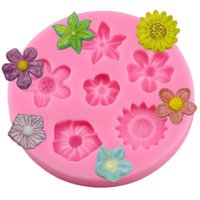 Wholesale fondant 3d molds for sale - Group buy 3D Flower Silicone Molds Fondant Craft Cake Candy Chocolate Resin Sugarcraft Ice Pastry Baking Tool Mould
