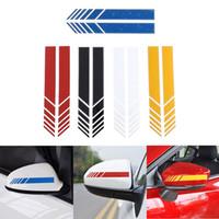 ingrosso adesivi per auto suv-2 Pz / lotto Car Styling Auto SUV Vinile Graphic Car Sticker Specchietto retrovisore Side Decal Stripe DIY Body Decalcomanie